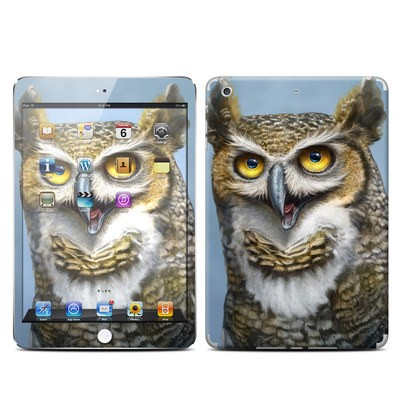 Apple iPad Mini Retina Skin - Owl Totem