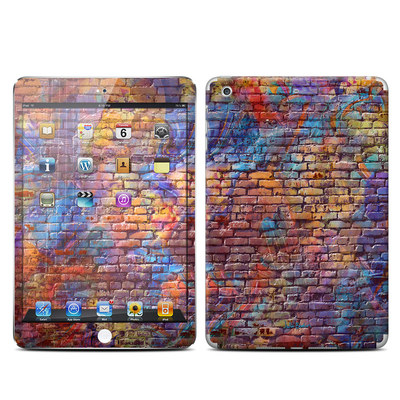 Apple iPad Mini Retina Skin - Painted Brick