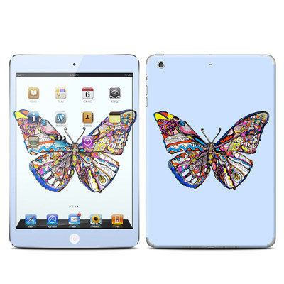 Apple iPad Mini Retina Skin - Pieced Butterfly