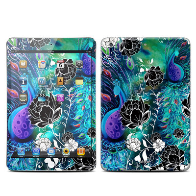 Apple iPad Mini Retina Skin - Peacock Garden