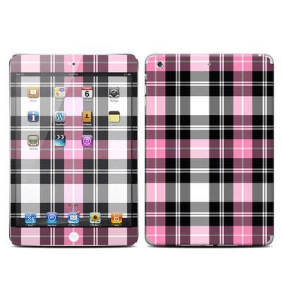 Apple iPad Mini Retina Skin - Pink Plaid