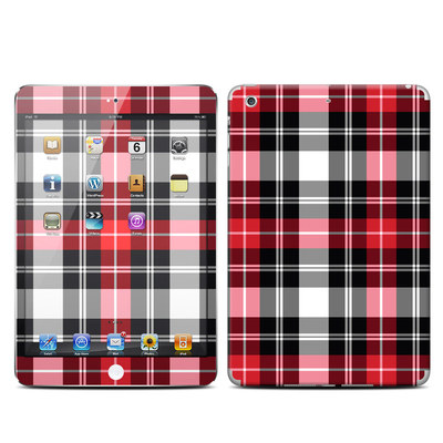 Apple iPad Mini Retina Skin - Red Plaid