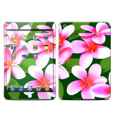 Apple iPad Mini Retina Skin - Pink Plumerias