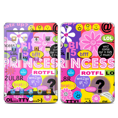 Apple iPad Mini Retina Skin - Princess Text Me