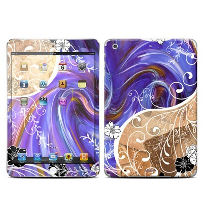 Apple iPad Mini Retina Skin - Purple Waves