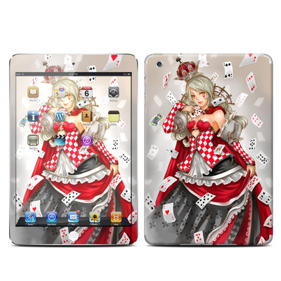 Apple iPad Mini Retina Skin - Queen Of Cards