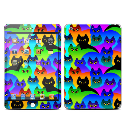 Apple iPad Mini Retina Skin - Rainbow Cats