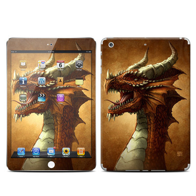 Apple iPad Mini Retina Skin - Red Dragon