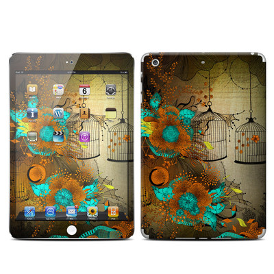 Apple iPad Mini Retina Skin - Rusty Lace