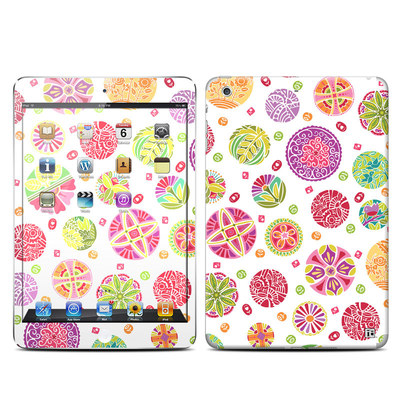 Apple iPad Mini Retina Skin - Round Flowers