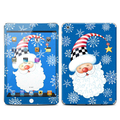 Apple iPad Mini Retina Skin - Santa Snowflake