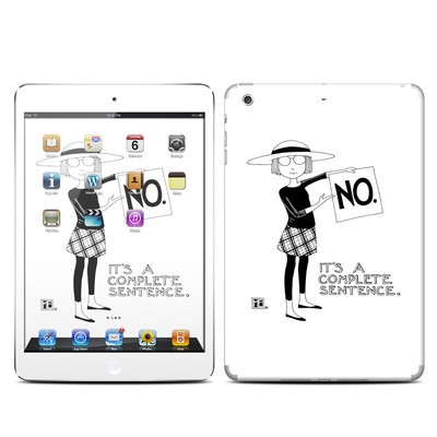 Apple iPad Mini Retina Skin - Sentence