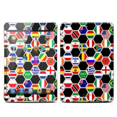 Apple iPad Mini Retina Skin - Soccer Flags