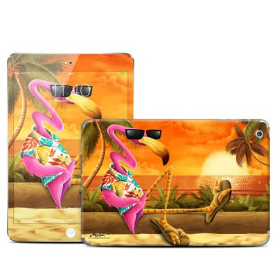 Apple iPad Mini Retina Skin - Sunset Flamingo
