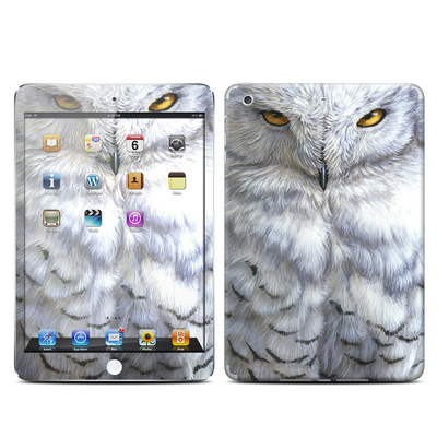Apple iPad Mini Retina Skin - Snowy Owl