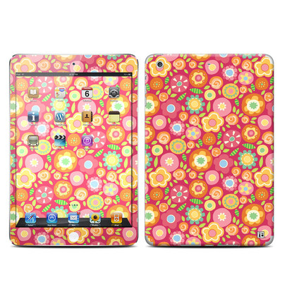 Apple iPad Mini Retina Skin - Flowers Squished