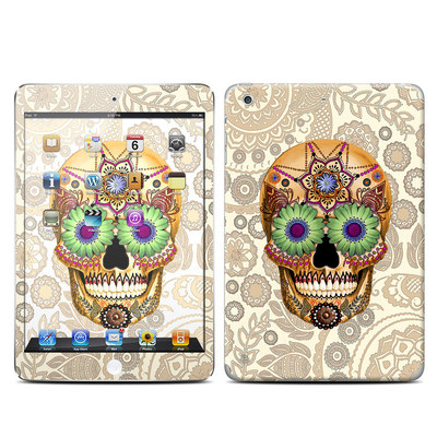 Apple iPad Mini Retina Skin - Sugar Skull Bone