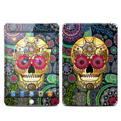 Apple iPad Mini Retina Skin - Sugar Skull Paisley