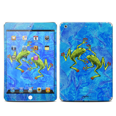 Apple iPad Mini Retina Skin - Tiger Frogs