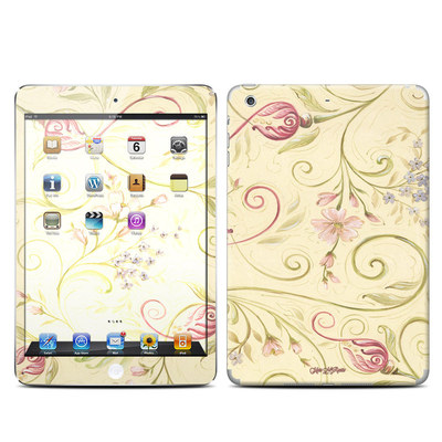 Apple iPad Mini Retina Skin - Tulip Scroll