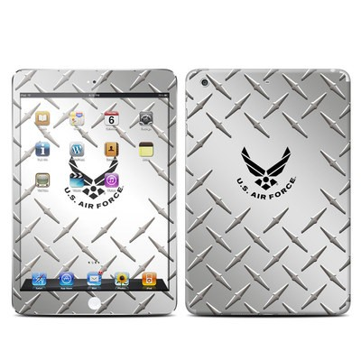 Apple iPad Mini Retina Skin - USAF Diamond Plate