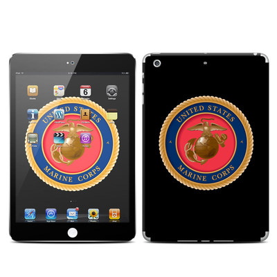 Apple iPad Mini Retina Skin - USMC Black