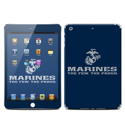 Apple iPad Mini Retina Skin - USMC Blue