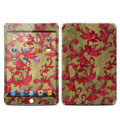 Apple iPad Mini Retina Skin - Vintage Scarlet