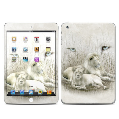 Apple iPad Mini Retina Skin - White Lion