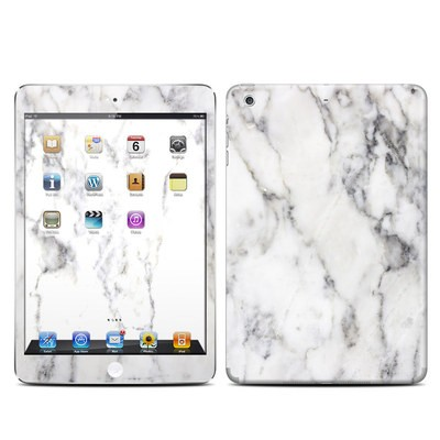 Apple iPad Mini Retina Skin - White Marble