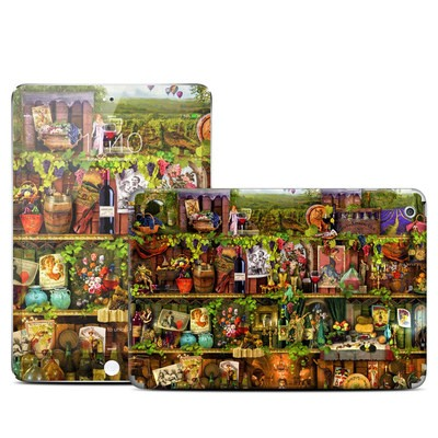 Apple iPad Mini Retina Skin - Wine Shelf