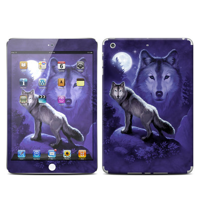 Apple iPad Mini Retina Skin - Wolf