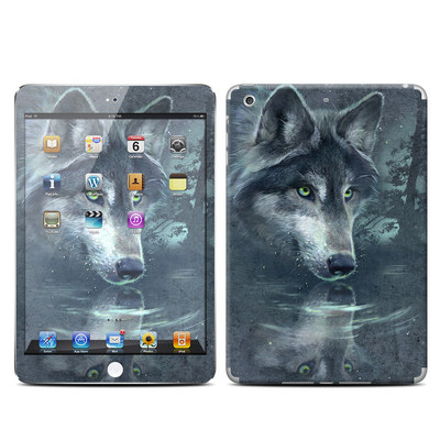 Apple iPad Mini Retina Skin - Wolf Reflection