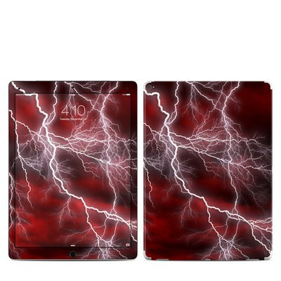 Apple iPad Pro 12.9 (1st Gen) Skin - Apocalypse Red