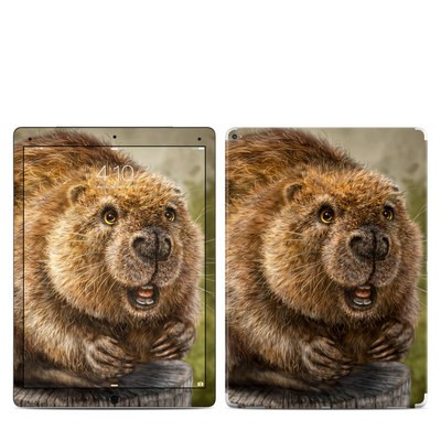 Apple iPad Pro Skin - Beaver Totem