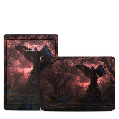 Apple iPad Pro Skin - Black Angel