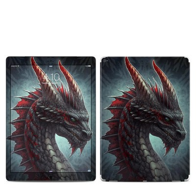Apple iPad Pro 12.9 (1st Gen) Skin - Black Dragon