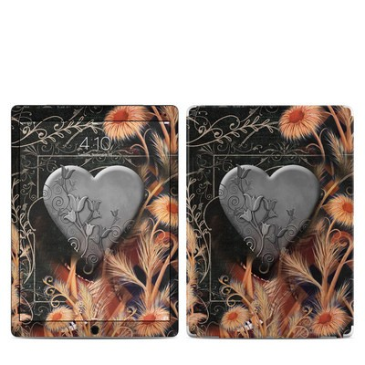 Apple iPad Pro 12.9 (1st Gen) Skin - Black Lace Flower