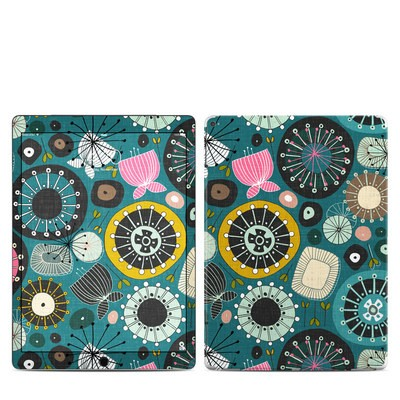 Apple iPad Pro Skin - Blooms Teal