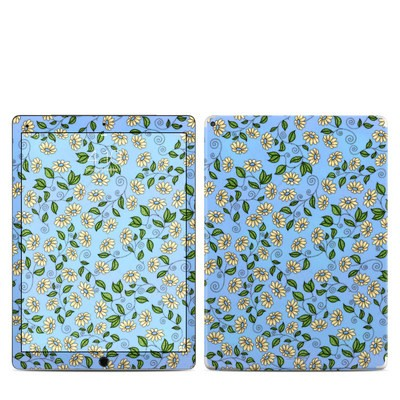 Apple iPad Pro Skin - Blue Daisy