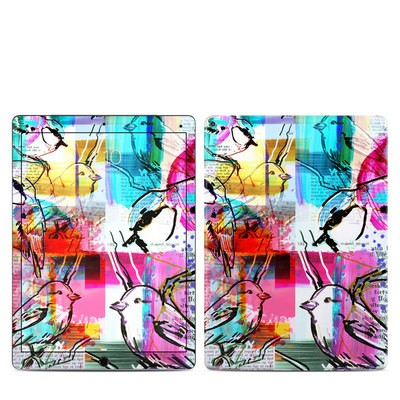 Apple iPad Pro 12.9 (1st Gen) Skin - Book Birds
