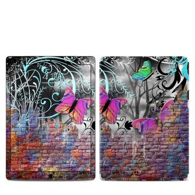 Apple iPad Pro 12.9 (1st Gen) Skin - Butterfly Wall