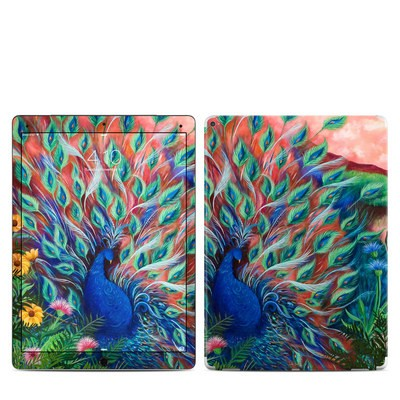 Apple iPad Pro Skin - Coral Peacock