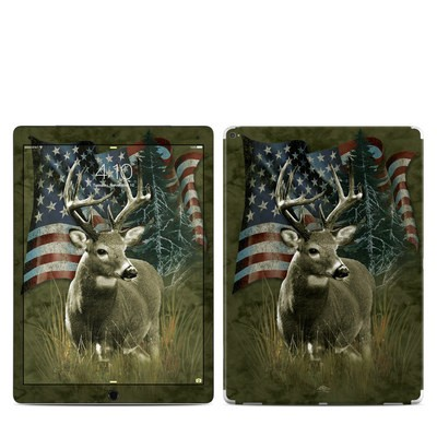 Apple iPad Pro 12.9 (1st Gen) Skin - Deer Flag