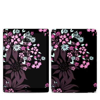 Apple iPad Pro 12.9 (1st Gen) Skin - Dark Flowers