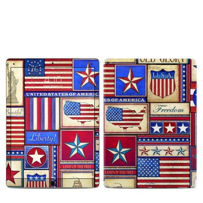 Apple iPad Pro 12.9 (1st Gen) Skin - Flag Patchwork