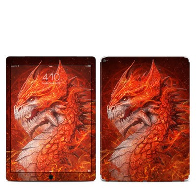 Apple iPad Pro 12.9 (1st Gen) Skin - Flame Dragon