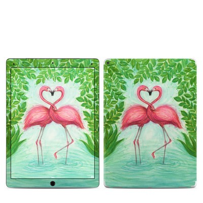 Apple iPad Pro 12.9 (1st Gen) Skin - Flamingo Love