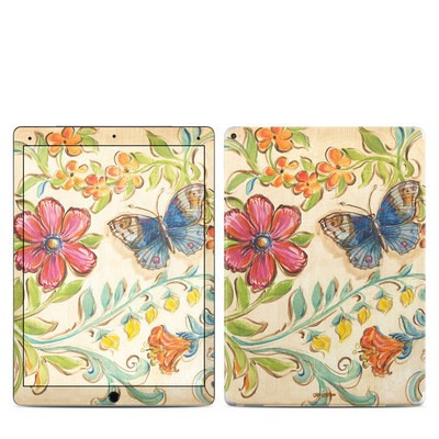 Apple iPad Pro Skin - Garden Scroll