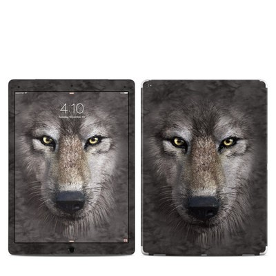 Apple iPad Pro 12.9 (1st Gen) Skin - Grey Wolf